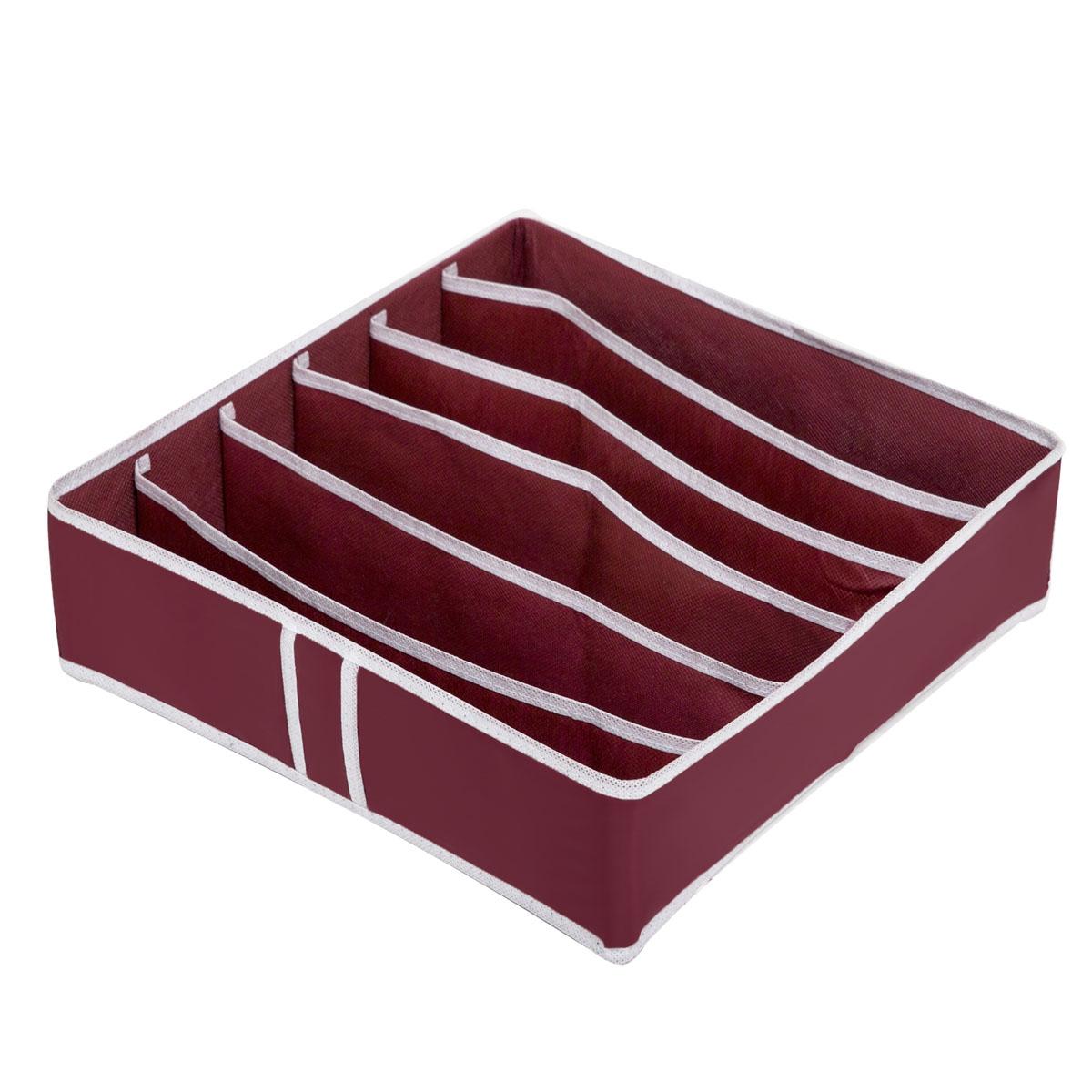 Органайзер для хранения Homsu Red Rose, 6 секций, 35 x 35 x 10 см органайзер 6 секций 31х24х11 homsu