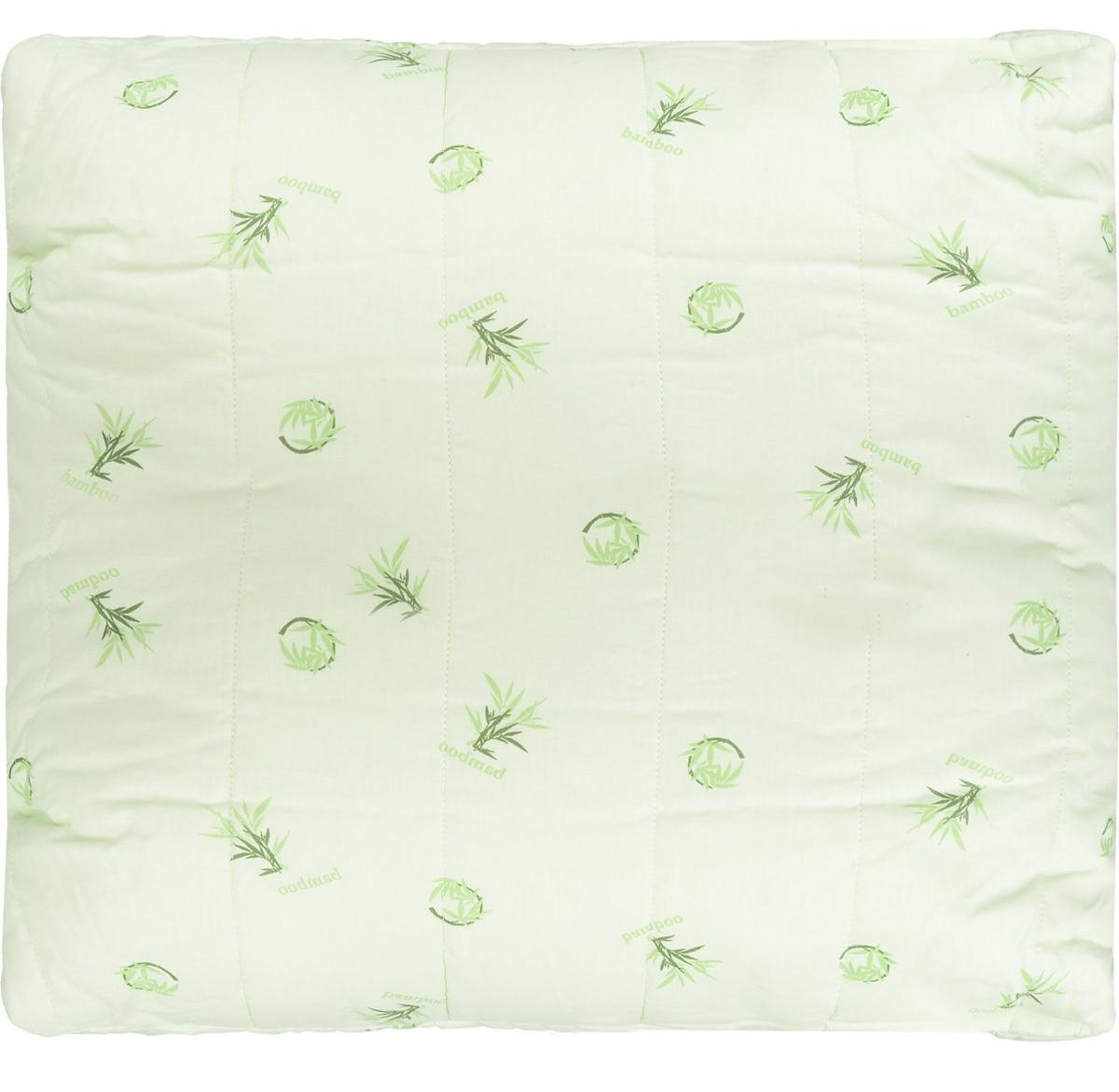 """Подушка Легкие сны """"Бамбук"""", наполнитель: бамбуковое волокно, 50 x 68 см"""