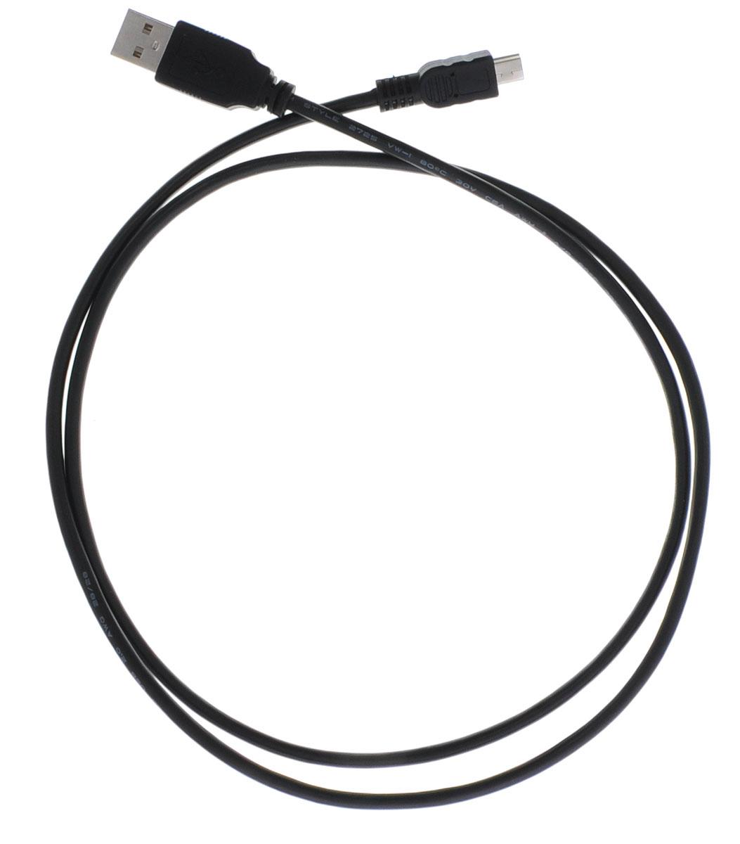 Greenconnect Premium GCR-UM2M5P-BB2S, Black кабель miniUSB-USB 1 м greenconnect premium gcr uec3m bb2s black кабель удлинитель usb 1 м
