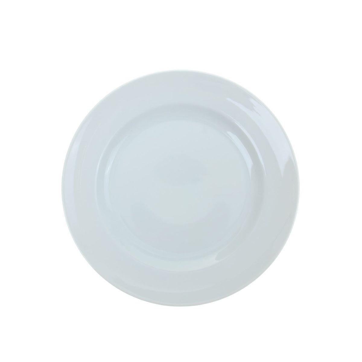 Тарелка мелкая Идиллия. Белье, диаметр 24 см тарелка мелкая идиллия ромашка диаметр 20 см 5с0189