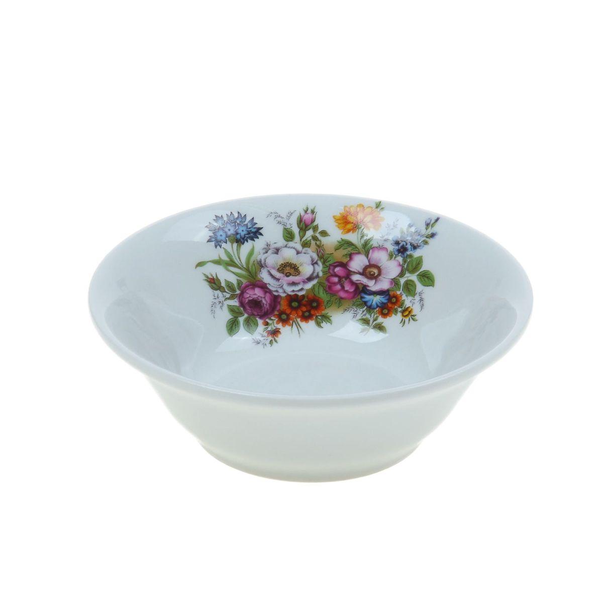 Салатник Идиллия. Букет цветов, 360 мл букет изысканный комплимент