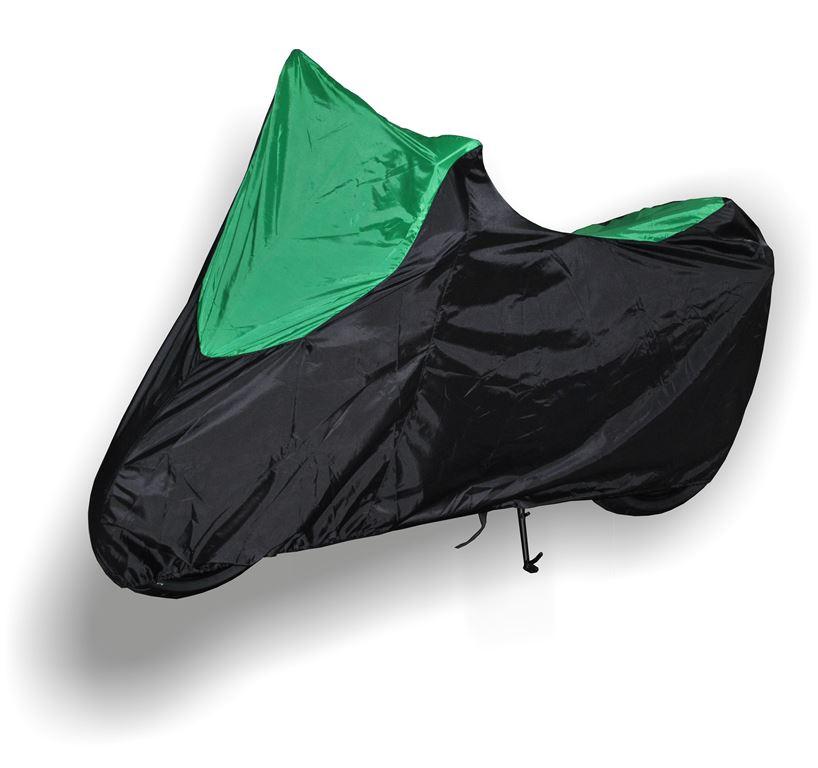 Чехол AG-brand, для мотоцикла Kawasaki Z, цвет: черный, зеленый запчасти для мотоциклов ktm