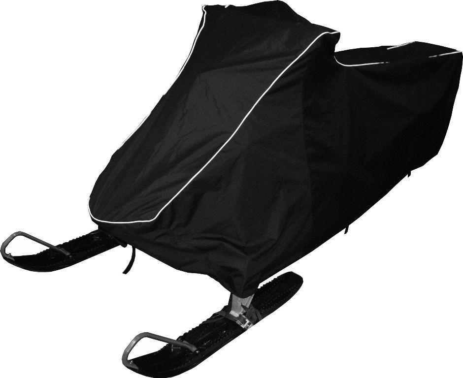 Чехол транспортировочный AG-brand, для снегохода Polaris RMK 800 (155), цвет: черный