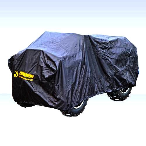 Чехол универсальный AG-brand, для квадроцикла ATV Stels GT/H/ Gepard, цвет: черный