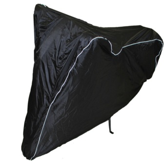 Чехол AG-brand, для мотоцикла M, универсальный, цвет: черный запчасти для мотоциклов other