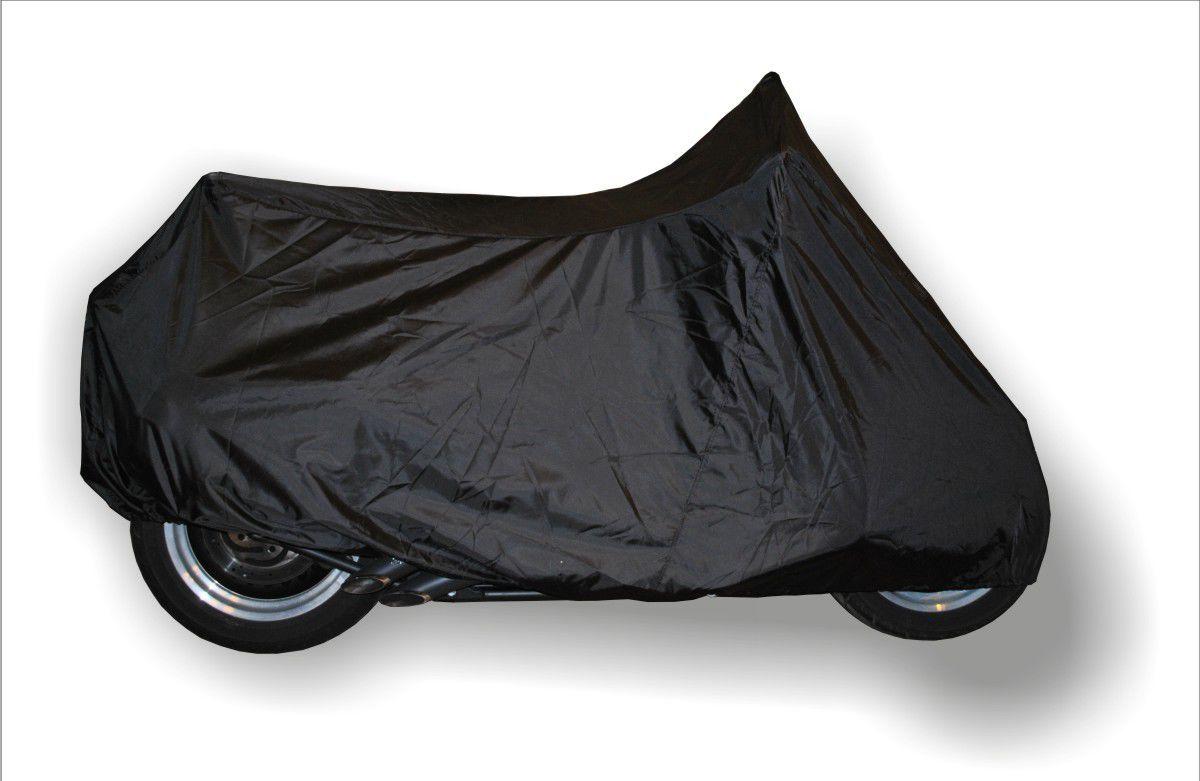 Чехол AG-brand, для мотоцикла XL, универсальный, цвет: черный