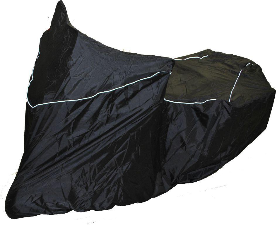 Чехол AG-brand, для мотоцикла Yamaha SuperTenere, цвет: черный