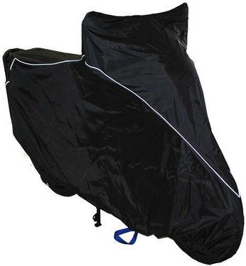 Чехол AG-brand, для мотоцикла Yamaha YBR125, цвет: черный