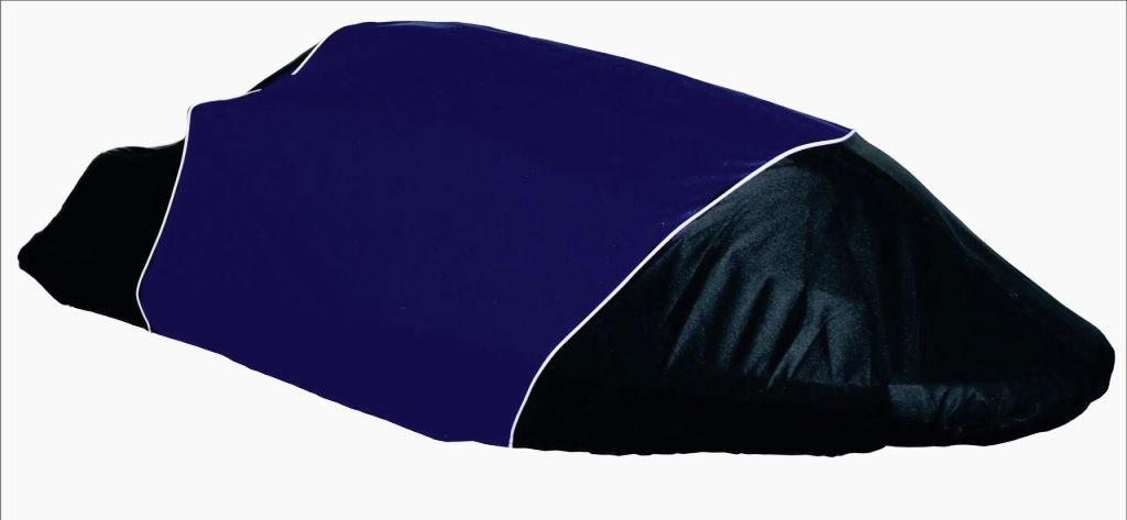 Чехол AG-brand, для гидроцикла Yamaha SuperJet, цвет: черный, синий