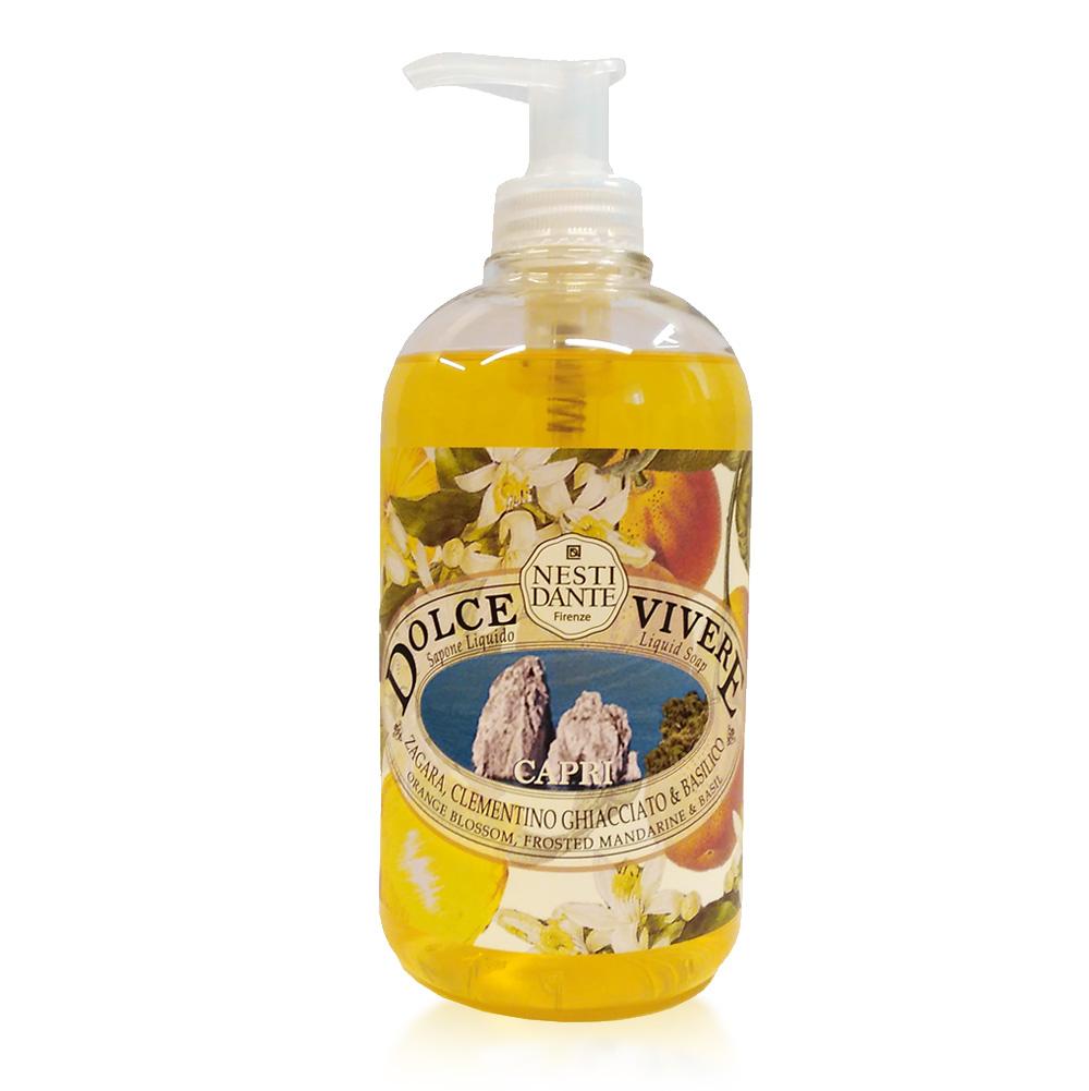 Nesti Dante Жидкое мыло Capri -Капри 500 мл мыло олива из апулии nesti dante мыло олива из апулии