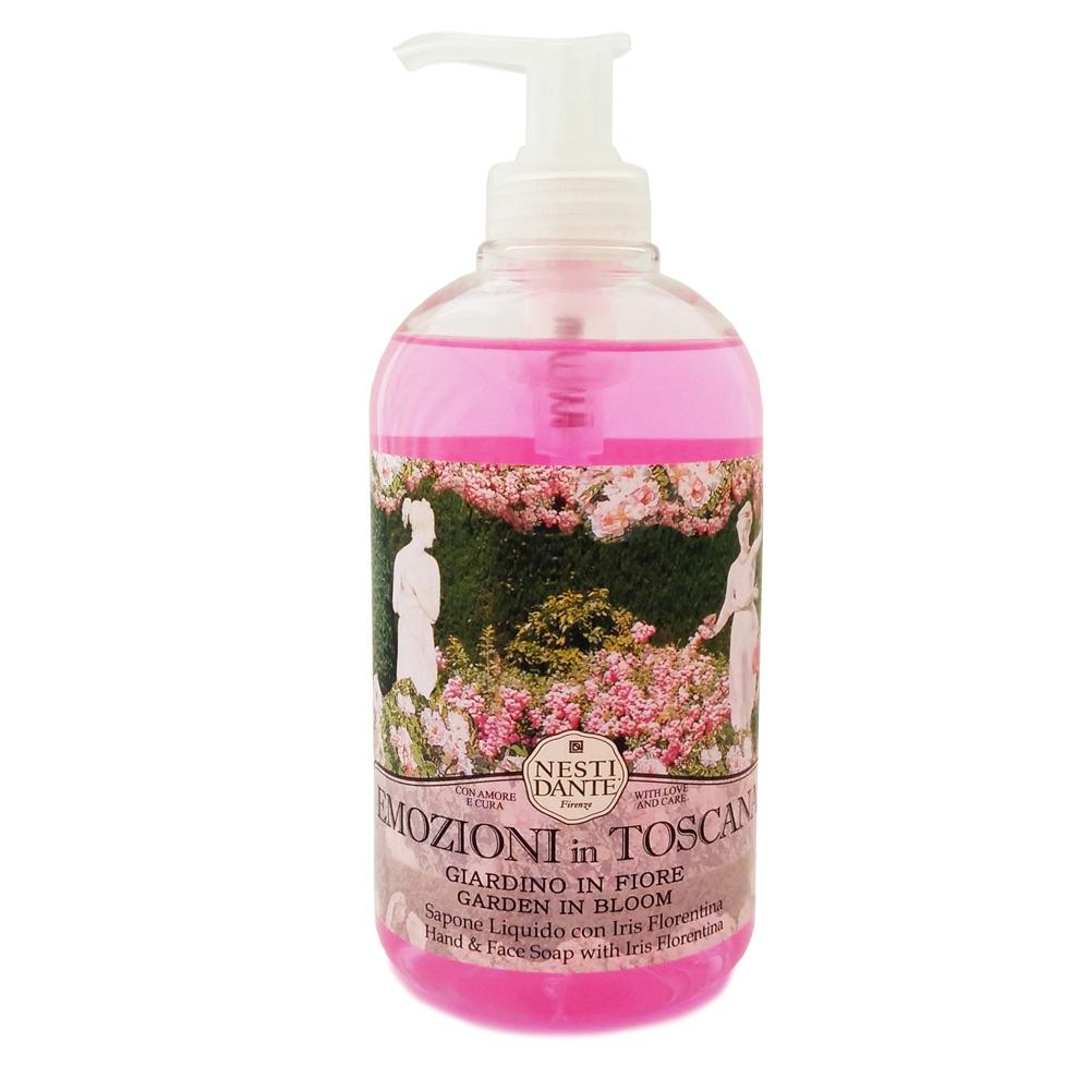 Жидкое мыло Nesti Dante Emozioni In Toscana. Цветущий сад, 500 мл nesti dante мыло marsiglia toscano мучо бьянко 200 г