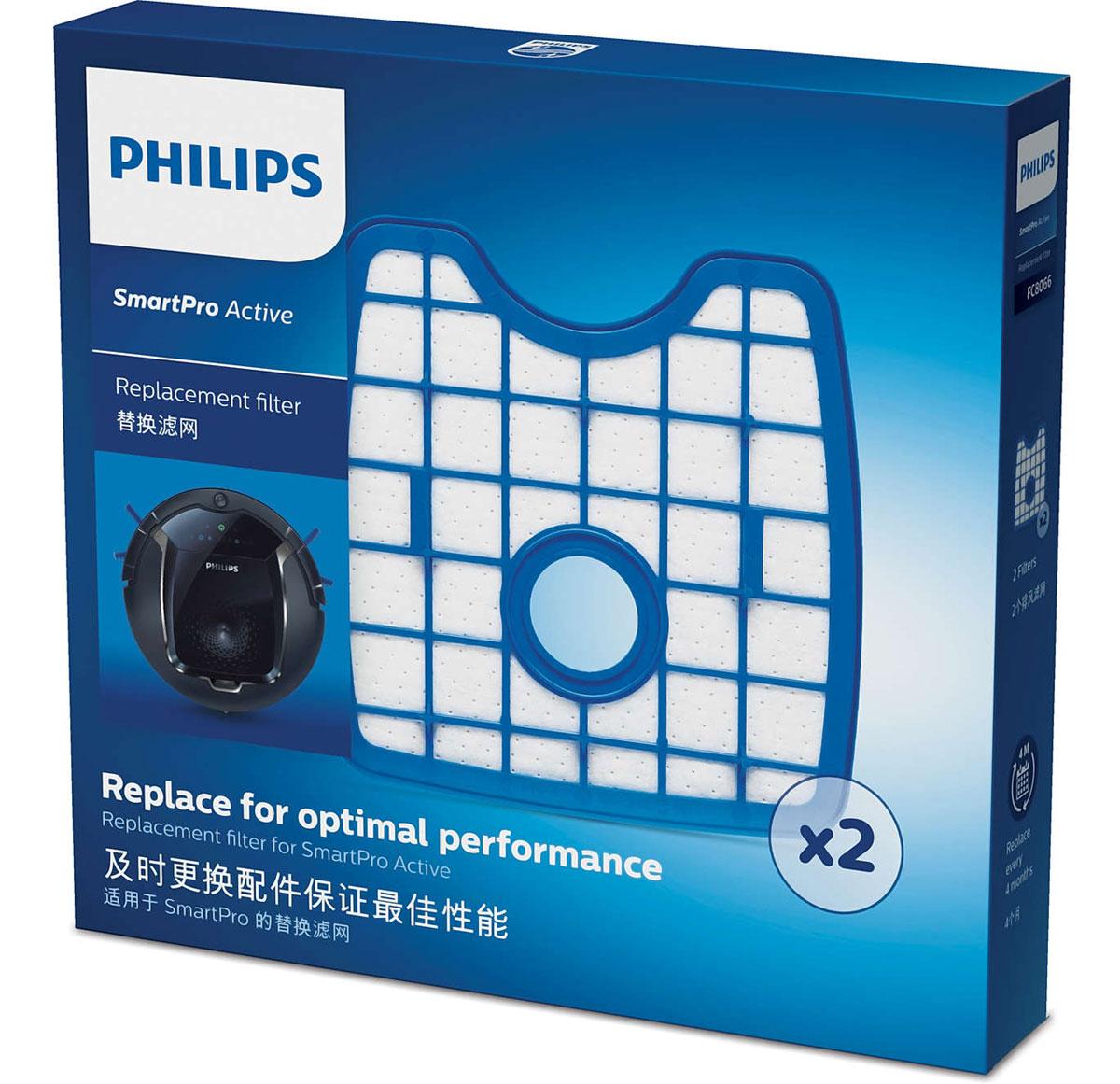 Philips FC8066/01 набор аксессуаров для робот-пылесосов SmartPro Active philips fc8065 01 набор аксессуаров для робот пылесосов smartpro compact