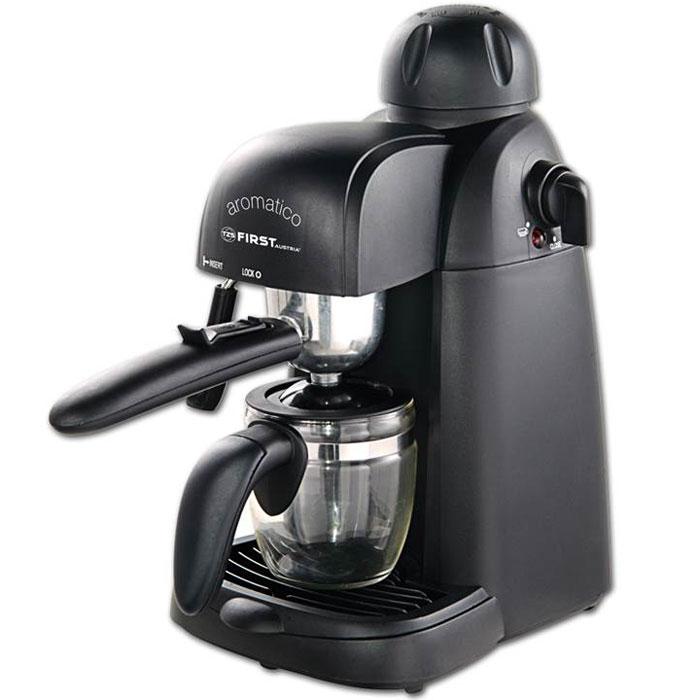 Кофеварка рожковая First FA-5475 Black цена