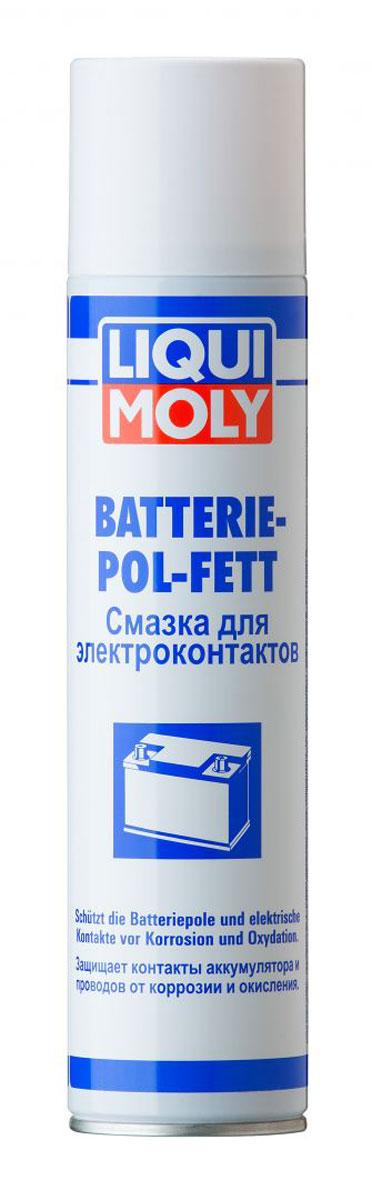 Смазка для электроконтактов Liqui Moly Batterie-Pol-Fett, 0,3 л крышки клемм аккумулятора для jeep сherokee 2015