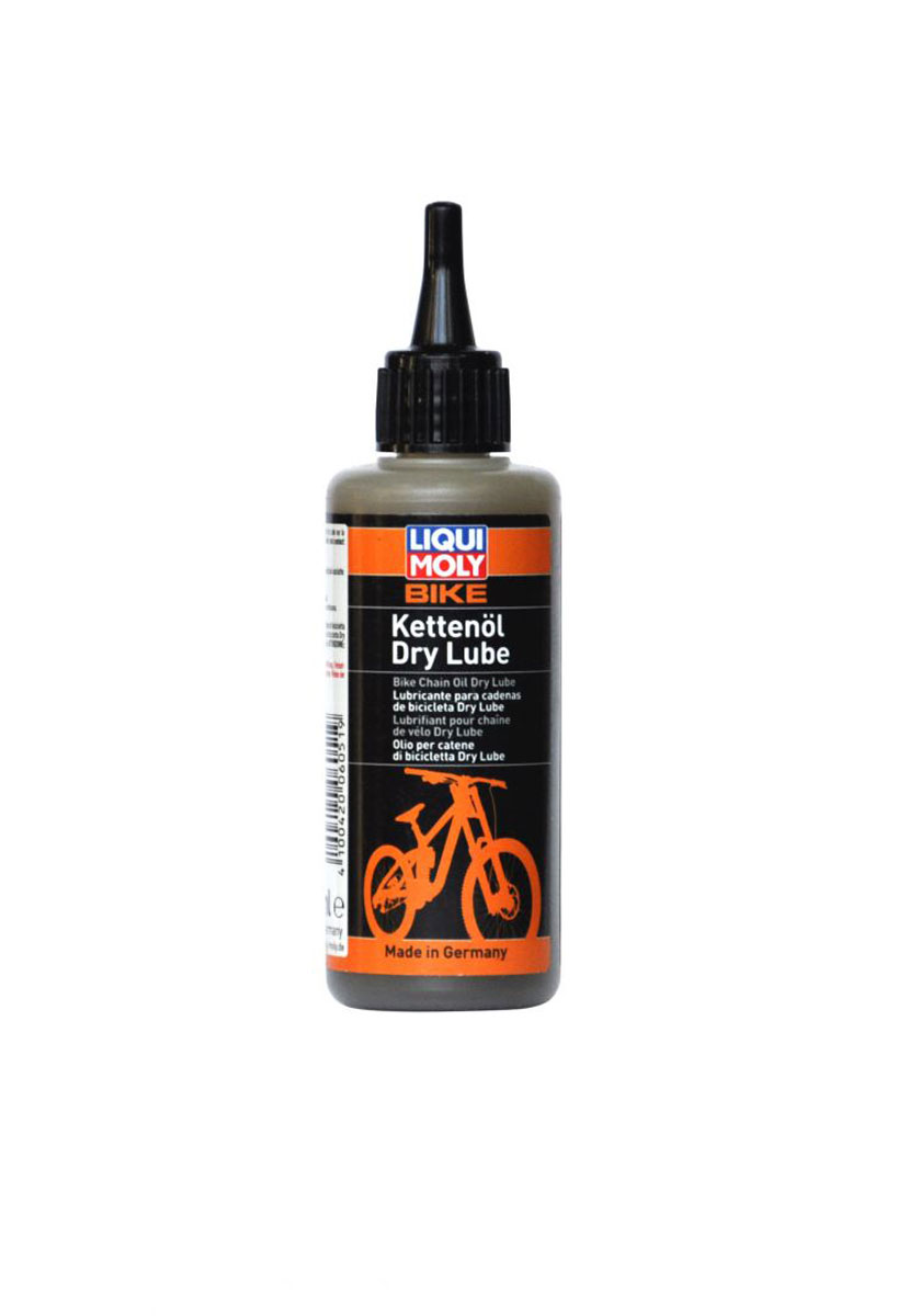 Смазка для цепи велосипеда Liqui Moly Bike Kettenoil Dry Lube, в сухую погоду, 100 мл