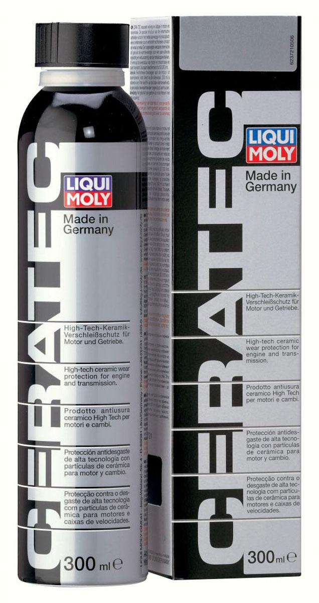 Присадка антифрикционная Liqui Moly Cera Tec, в моторное и трансмиссионное масло, 0,3 л присадка антифрикционная liqui moly в моторное и трансмиссионное масло cera tec 0 3 л 3721