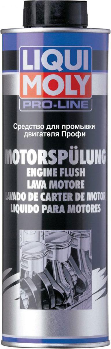 Средство для промывки двигателя Liqui Moly Pro-Line Motorspulung , 0,5 л средство для фиксации болтов liqui moly средняя фиксация 10 мл