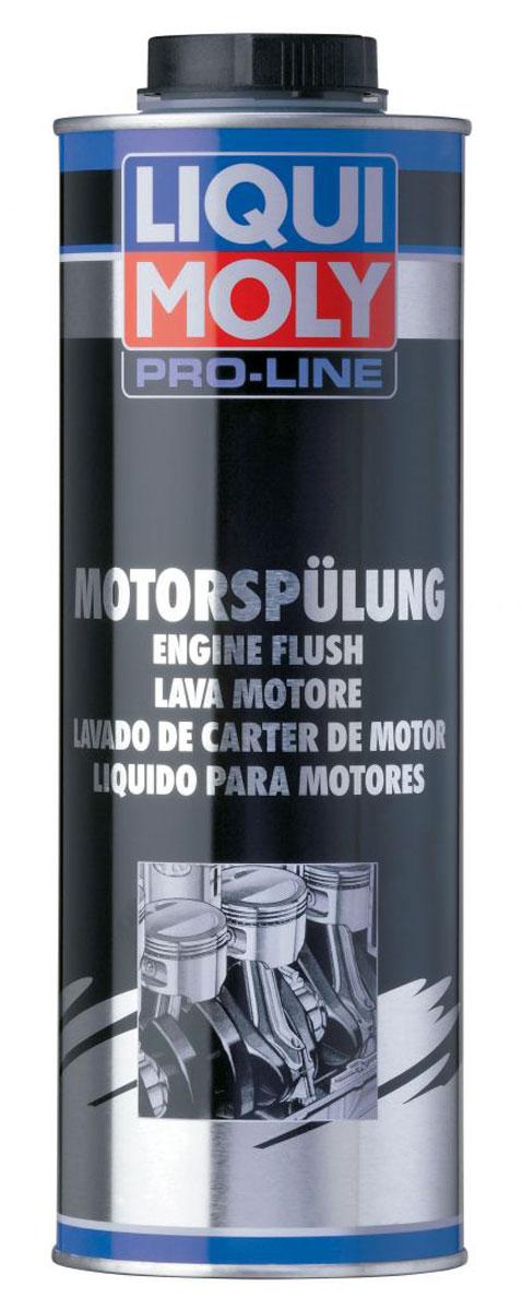 Средство для промывки двигателя Liqui Moly Pro-Line Motorspulung, 1 л пятиминутная промывка двигателя liqui moly engine flush 300 мл