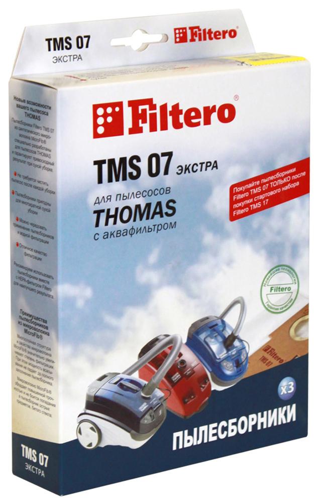 Filtero TMS 07 Экстра мешок-пылесборник для Thomas, 3 шт цена