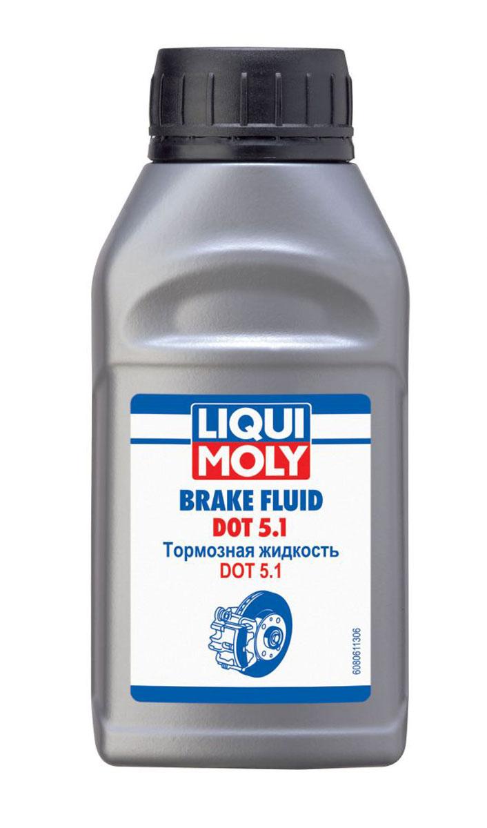 Жидкость тормозная LiquiMoly Brake Fluid DOT 5.1, 0,25 л