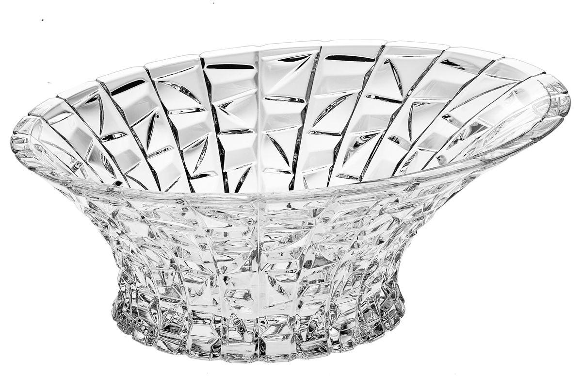 "Салатник ""Crystal Bohemia"", диаметр 33 см"