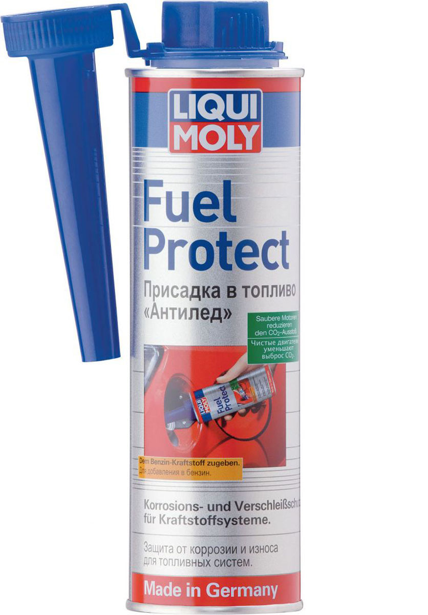 Присадка LiquiMoly Fuel Protect, в топливо, 0,3 л цена