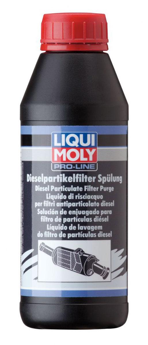 цена на Очиститель дизельного сажевого фильтра Liqui Moly Pro-Line Diesel Partikelfilter Spulung, для легковых автомобилей, 0,5 л