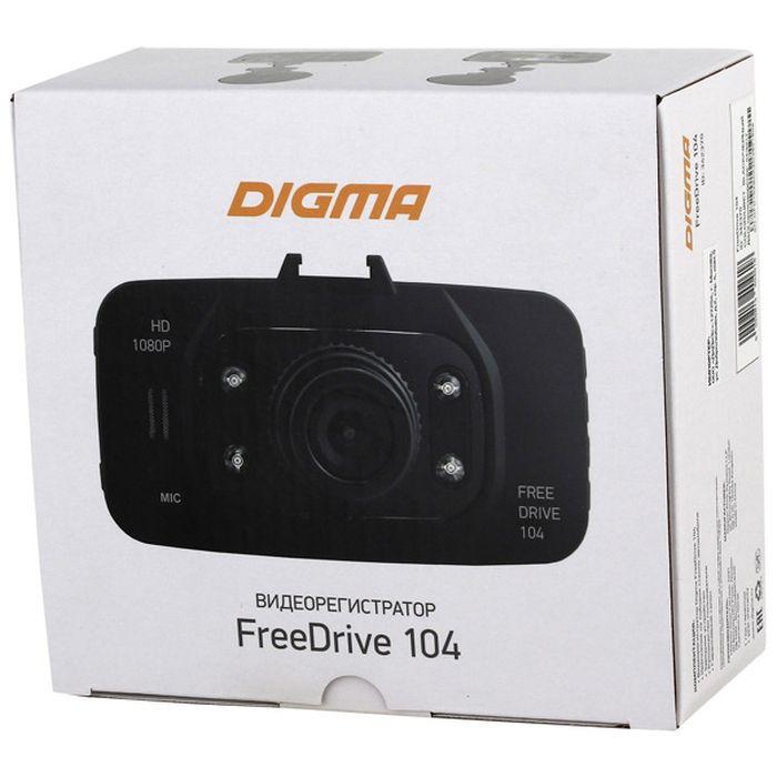 Видеорегистратор Digma FreeDrive 104, черный