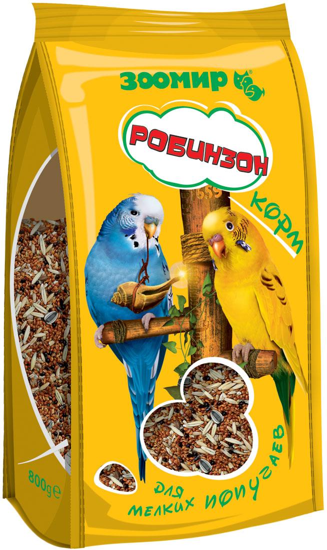 Корм для мелких попугаев Зоомир