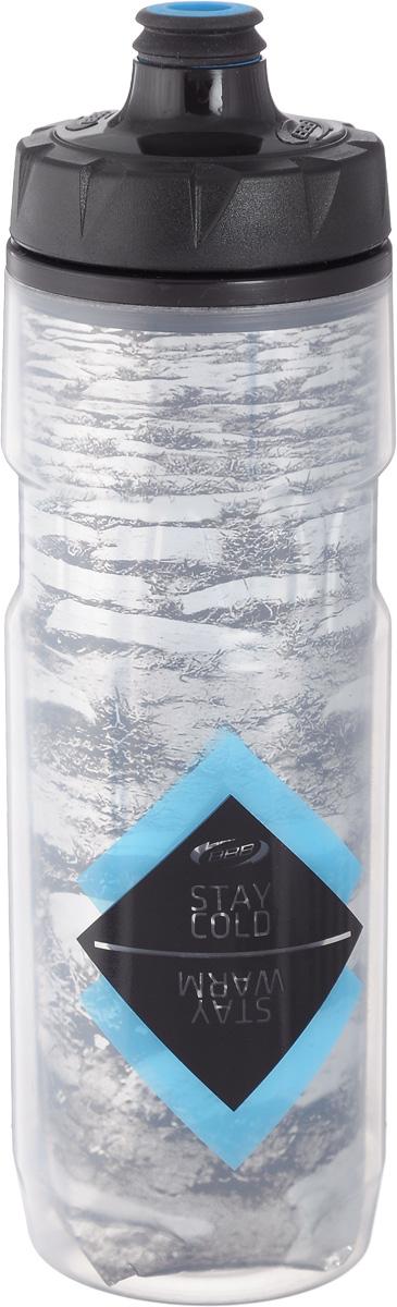 Бутылка для воды BBB, велосипедная, 500 млBWB-52Термобутылка для воды BBB изготовлена из высококачественного прозрачного полипропилена, безопасного для здоровья. Она обладает двойными стенками, для наиболее лучшей теплоизоляции. Сохраняет напиток прохладным или горячим вдвое дольше. Закручивающаяся крышка с герметичным клапаном для питья обеспечивает защиту от проливания. Оптимальный объем бутылки позволяет взять небольшую порцию напитка. Она легко помещается в сумке или рюкзаке и всегда будет под рукой. Такая идеальная бутылка небольшого размера, но отличной вместимости наполняет оптимизмом, даря заряд позитива и хорошего настроения. Бутылка для воды BBB - отличное решение для прогулки, пикника, автомобильной поездки, занятий спортом и фитнесом. Высота бутылки (с учетом крышки): 24,5 см. Диаметр по верхнему краю: 5,5 см. Диаметр основания: 6,5 см.