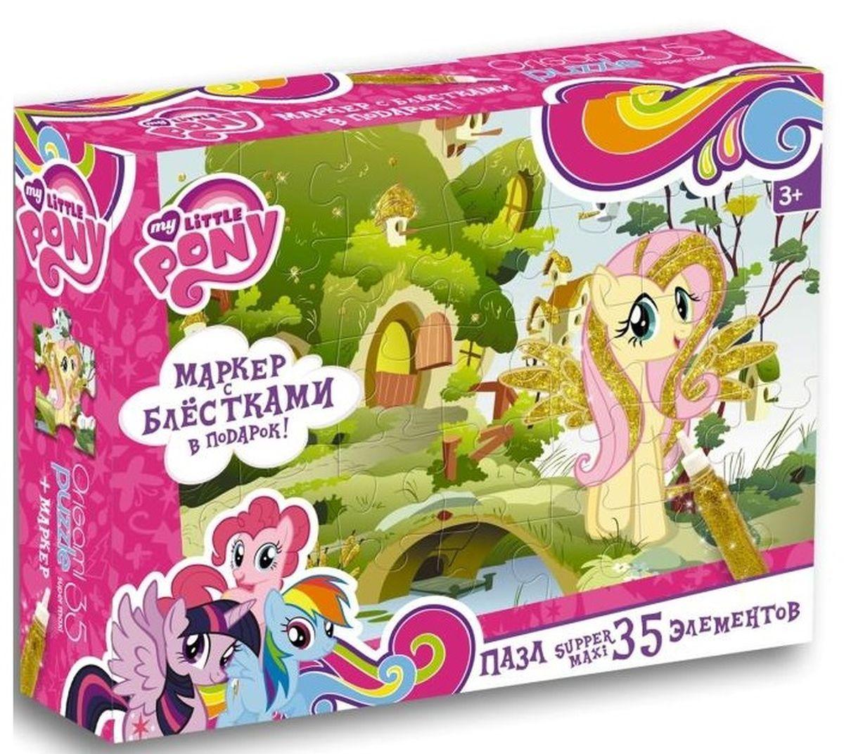все цены на Оригами Пазл для малышей My Little Pony Флаттершай онлайн