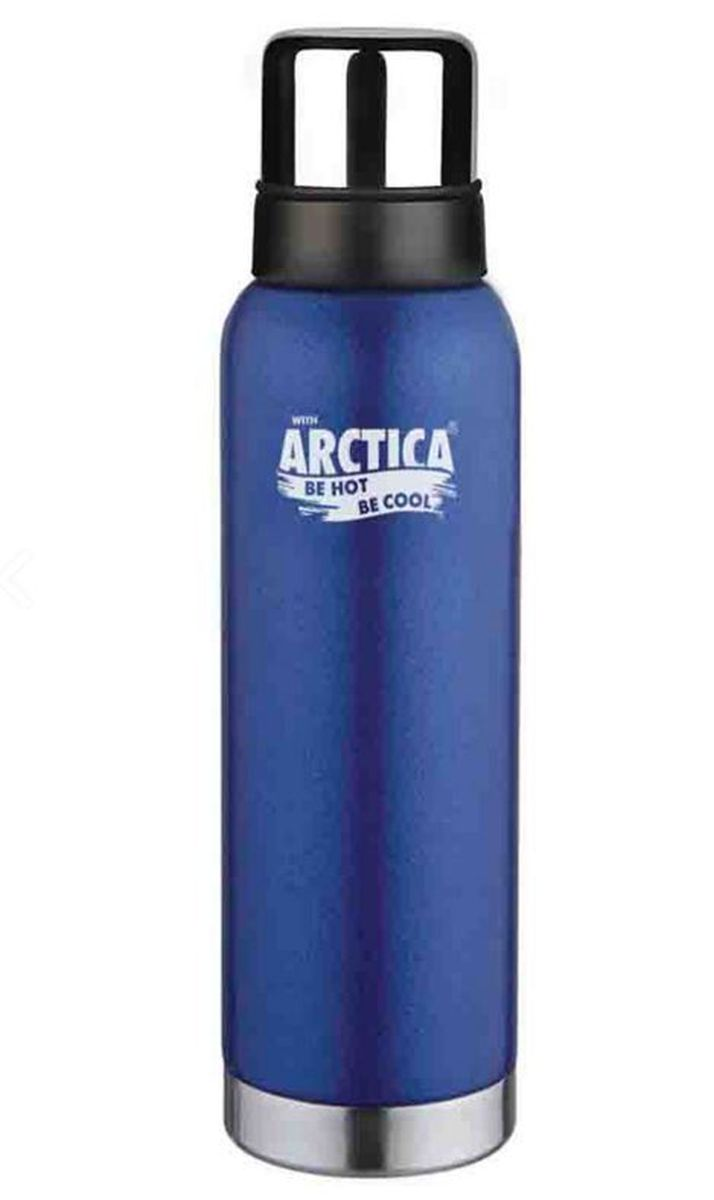 "Термос ""Арктика"", с чашей, цвет: синий, 1,2 л"