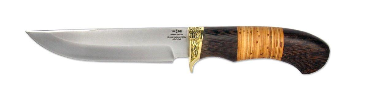 Нож охотничий Ножемир Лесник, длина клинка 14 см нож охотничий ножемир казачий цвет темно коричневый длина клинка 24 1 см