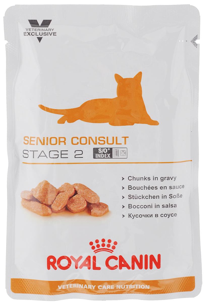 Консервы Royal Canin Senior Consult Stage 2 для кошек старше 7 лет, 100 г консервы royal canin senior consult stage 1 для кошек старше 7 лет 100 г 12 шт