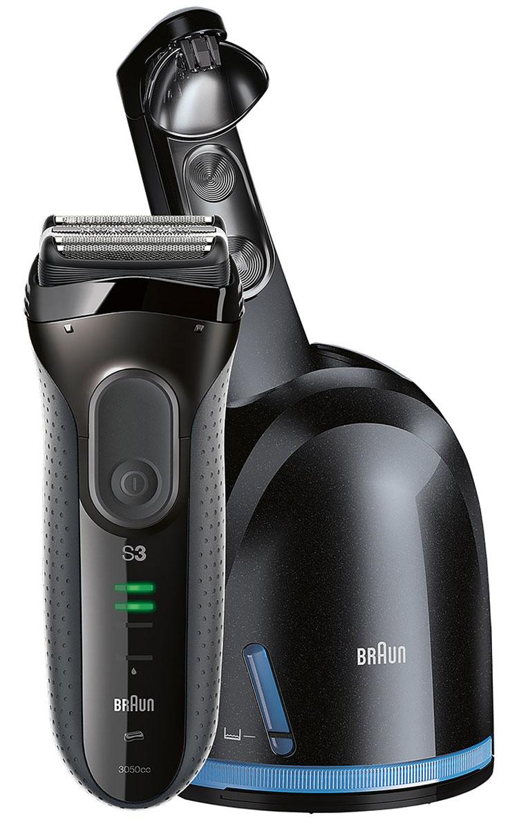 Электробритва Braun Series 3 3050cc, Grey