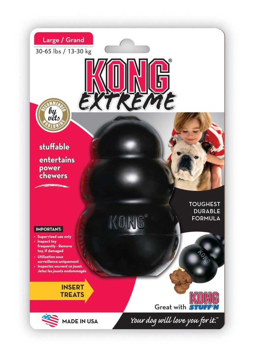Игрушка для собак Kong Extreme, большая, 10 х 6 см игрушка для собак kong extreme 13 х 9 см размер xl
