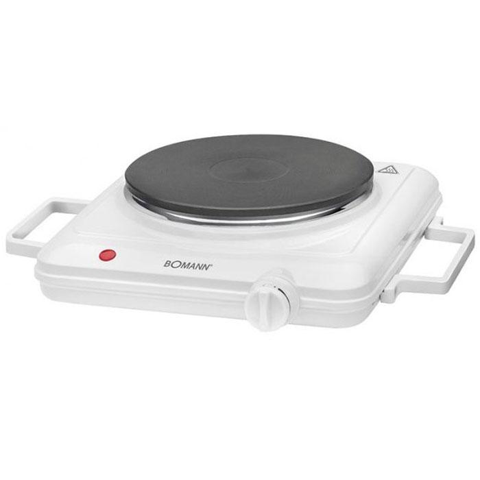 Настольная плита Bomann EKP 5027 CB, White электрическая хлебопечь bomann cb 594 white