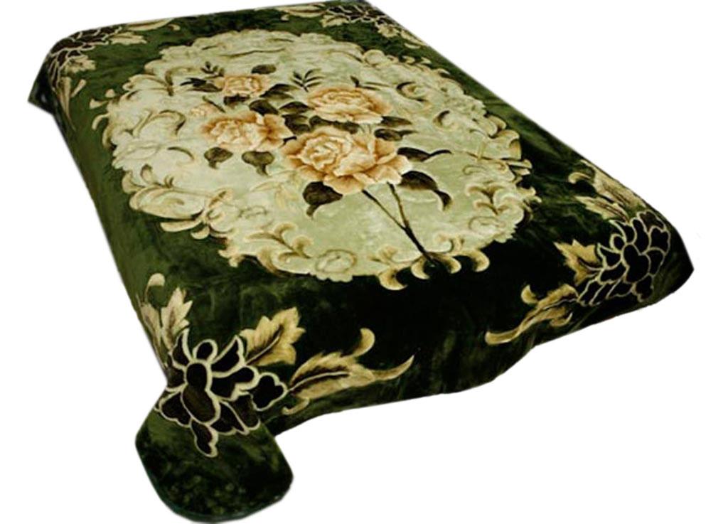 Плед Tamerlan, нестриженый, цвет: зеленый, 150 х 200 см. 74531 плед tamerlan плед payton 150х200 см