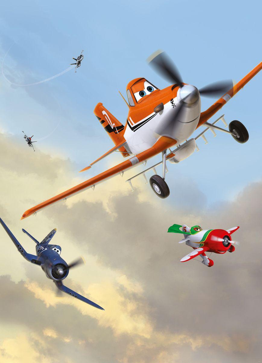 Фотообои Komar Самолеты. Пыльный и друзья, 1,84 х 2,54 м фотообои komar принцессы и закат 184 см х 2 54 м