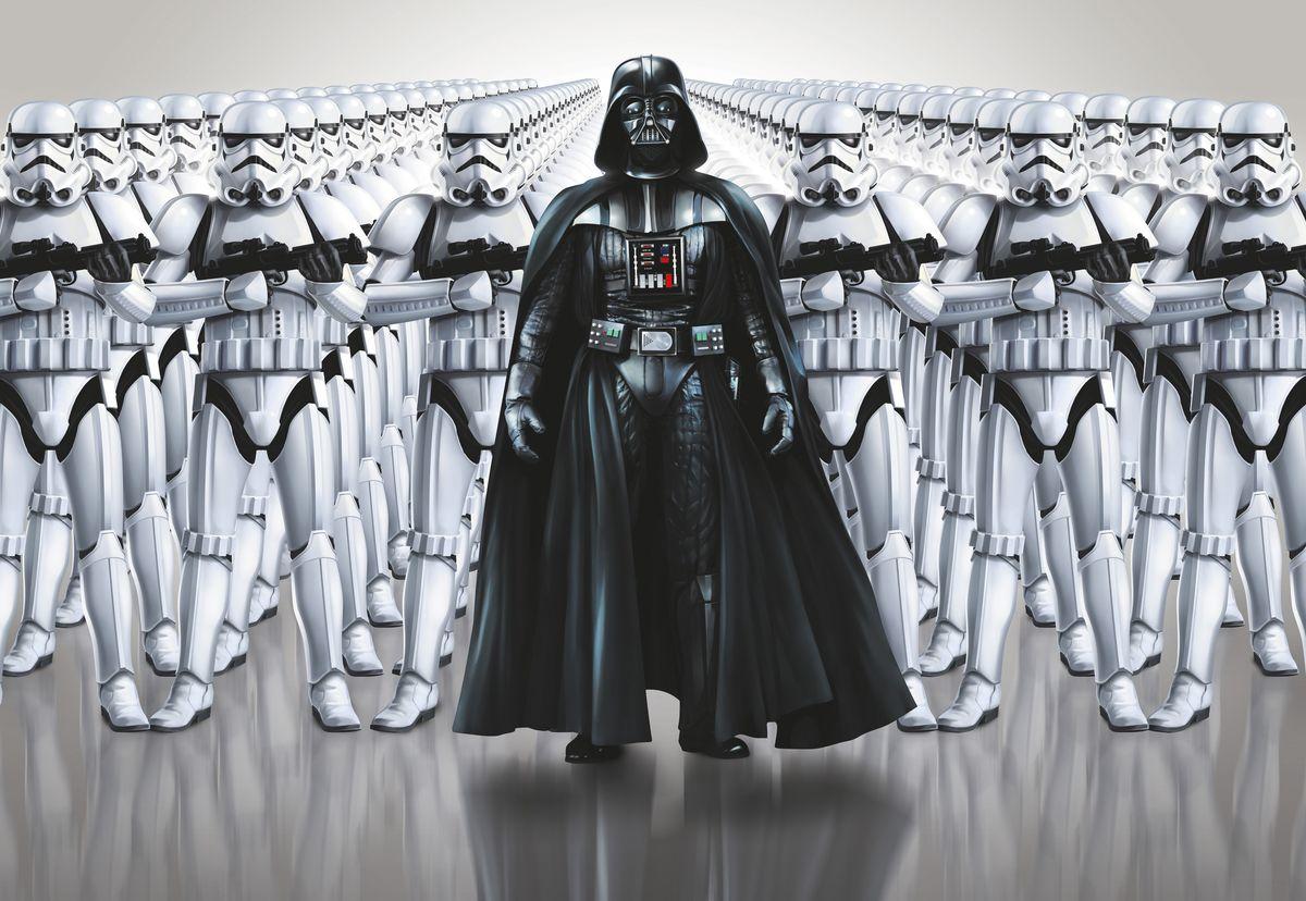 Фотообои Komar Звездные войны. Сила Империи, 3,68 х 2,54 м фотообои komar принцессы и закат 184 см х 2 54 м