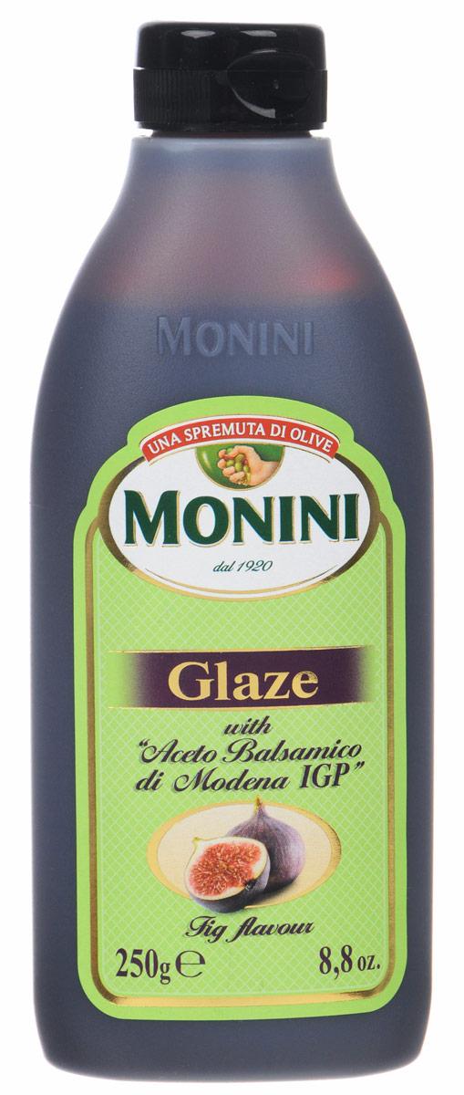 цены Monini Balsamic Glaze бальзамический соус со вкусом инжира, 250 г