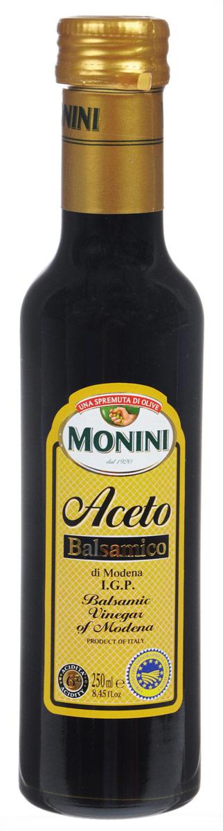 Monini Aceto Balsamico уксус винный бальзамический, 250 мл цена и фото