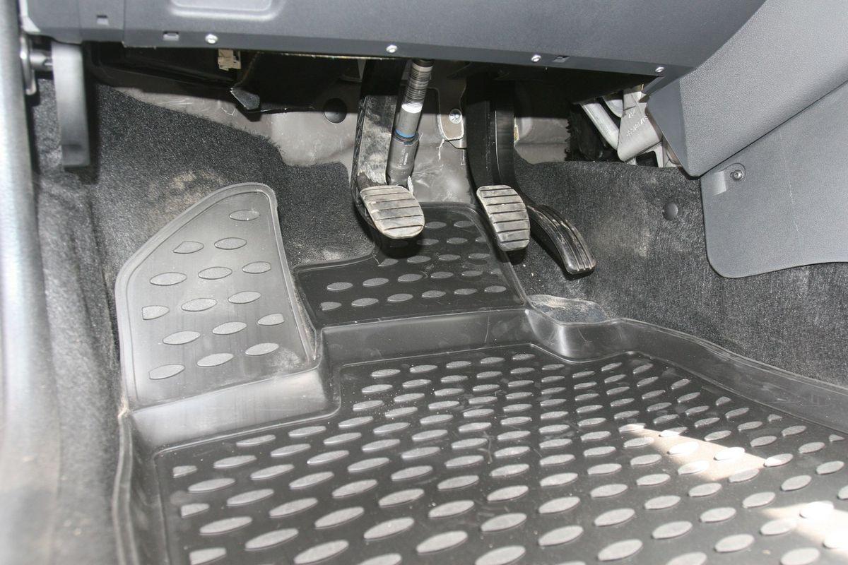 Набор автомобильных ковриков Element для Lada Largus 2012-, 7 мест, в салон, 5 шт недорго, оригинальная цена