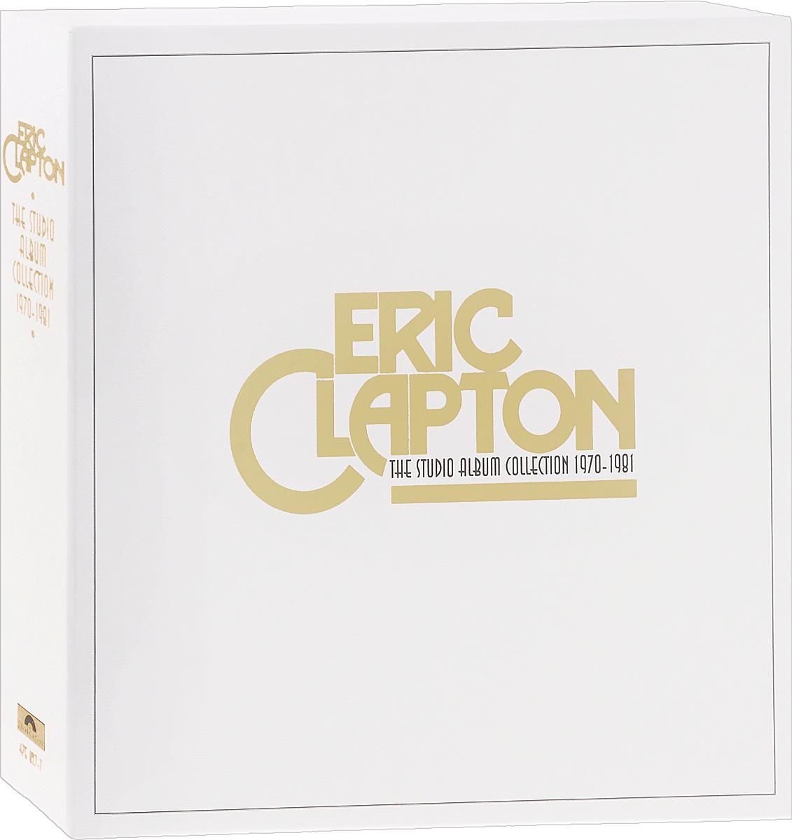 Эрик Клэптон Eric Clapton. The Studio Album Collection. 1970-1981 (9 LP) eric clapton eric clapton give me strength 3 lp