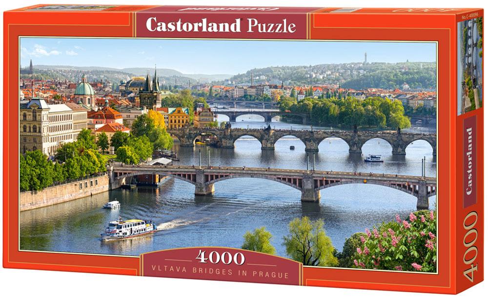 Castorland Пазл Река Влтава Прага стоимость