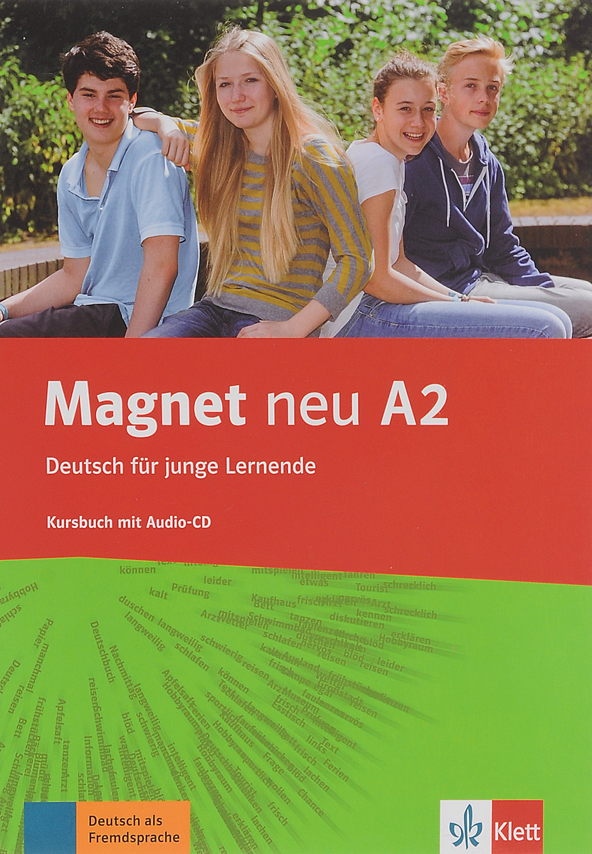 Magnet NEU A2 Kursbuch + Audio-CD цена и фото