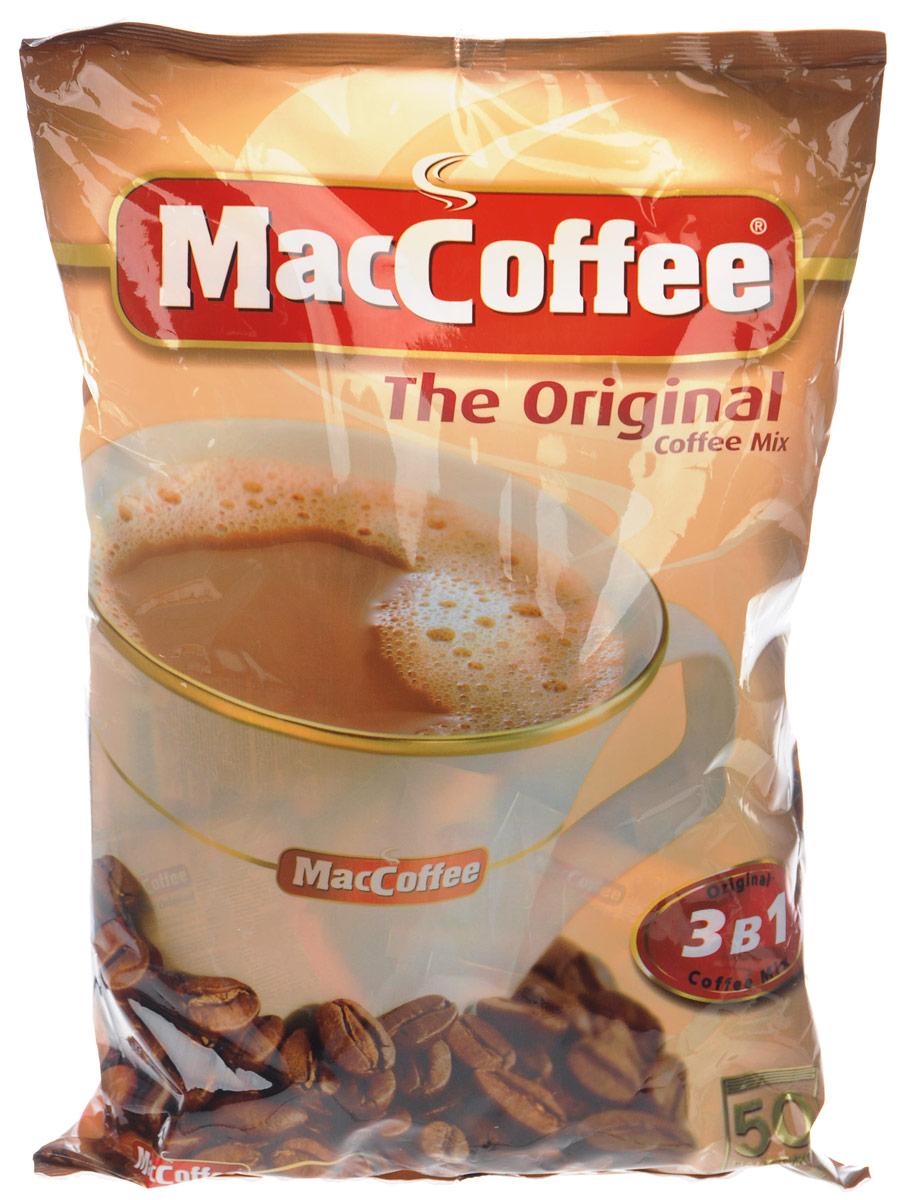Фото - МасСoffee кофейный напиток 3 в 1, 50 шт массoffee 3 в 1 original кофейный напиток 5 шт