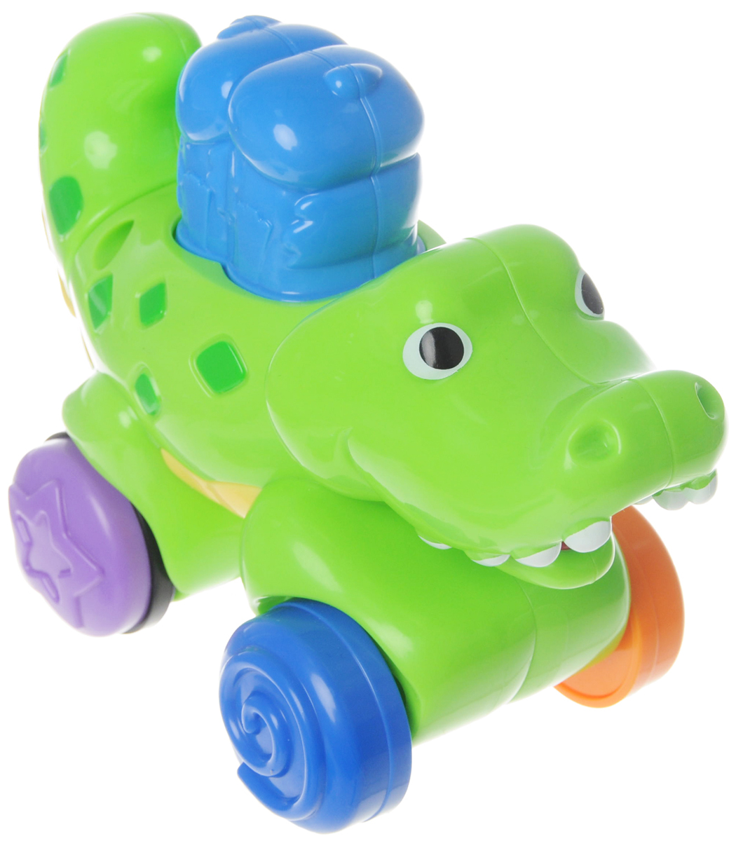 Fisher-Price Развивающая игрушка Крокодил
