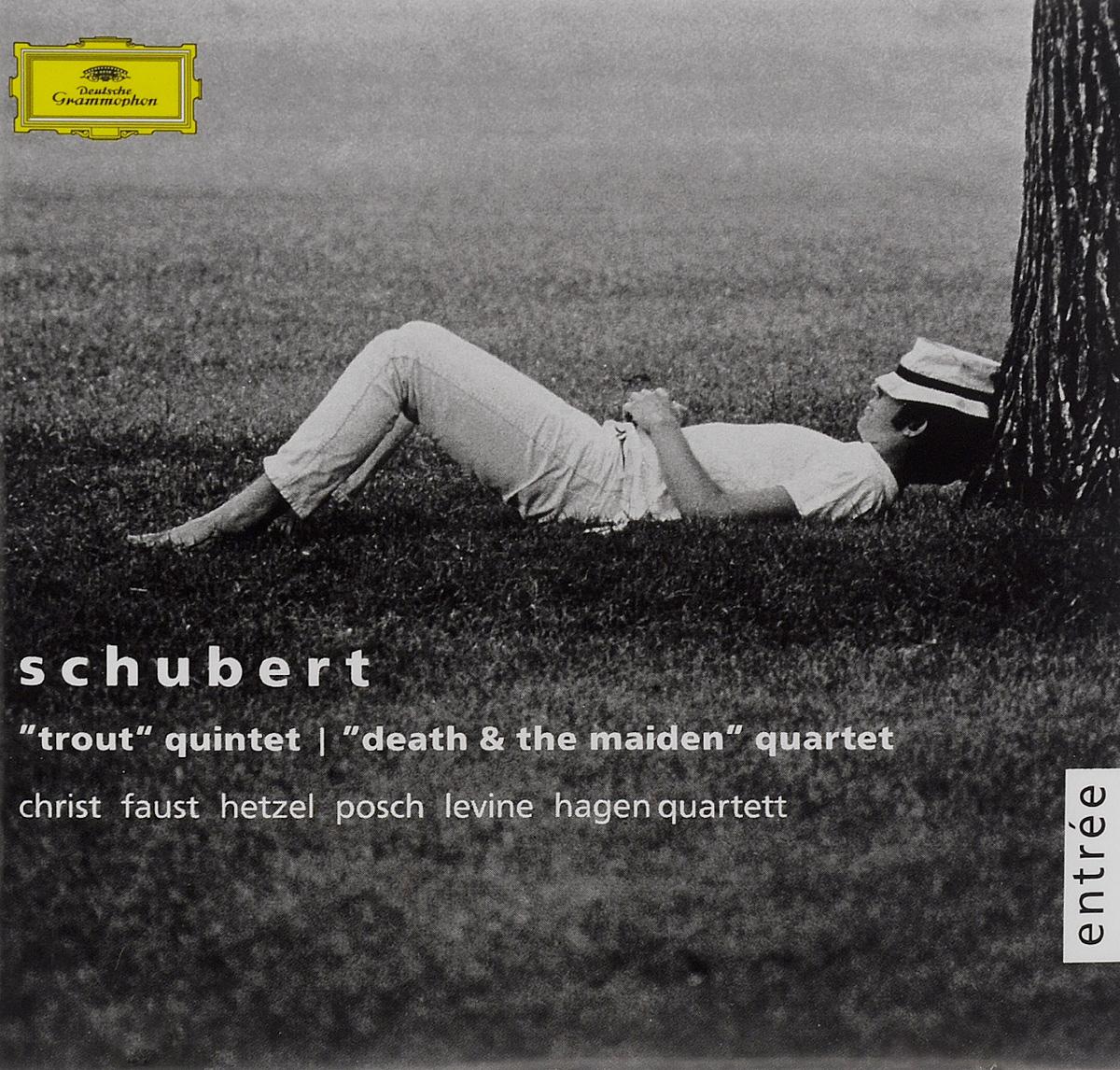 Hagen Quartett Hagen Quartett. Franz Schubert. Trout Quintet / Death & The Maiden Quartet f kauffmann quartett op 14