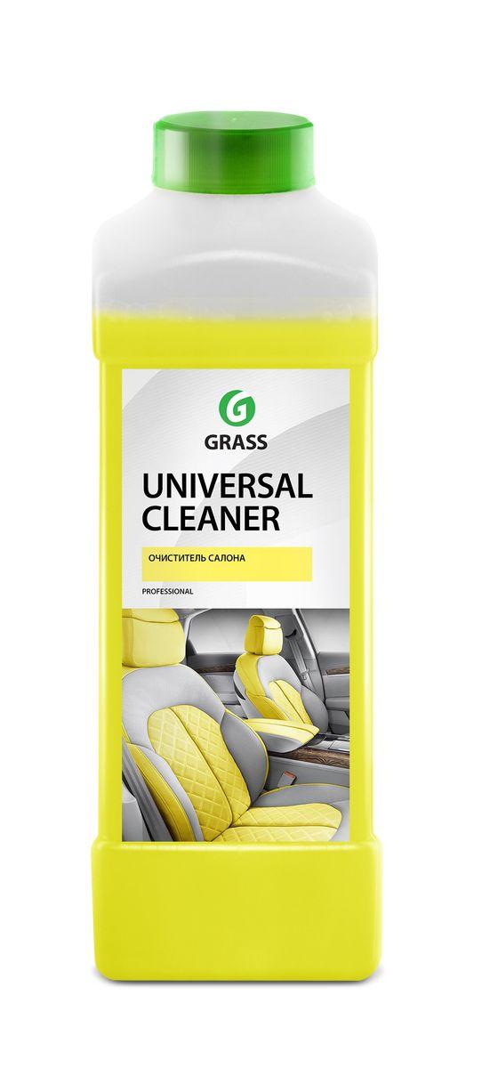 Очиститель салона Grass Universal Cleaner, 1 л автошампунь grass universal с ароматом апельсина 1 л